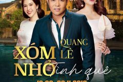 """Quang Le meets the audience of Corona Phu Quoc Theater in Liveshow """"Xom Nho Tinh Que"""""""